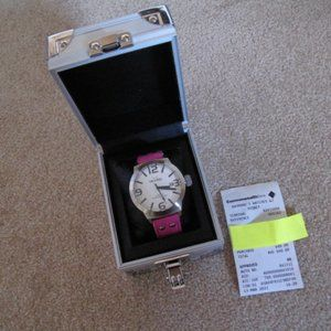 TW Steel Oversized Watch/New Battery & Cleaning